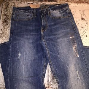 New American Eagle Men's Jeans-Relaxed Straight